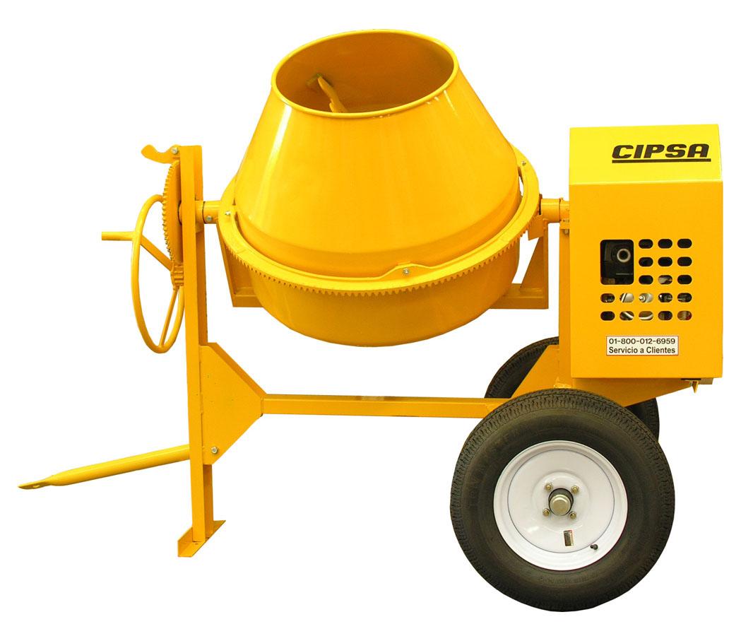 Revolvedora cipsa m10sh13 eq rental - Como mezclar cemento ...